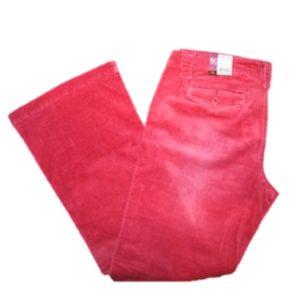 New! SO Junior's Flare Corduroy Pants Size: 13
